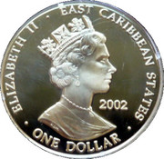 1 Dollar Elizabeth II (Edward III 1327-1377) – avers