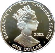 1 Dollar Elizabeth II (Queen Victoria 1837-1901) – avers