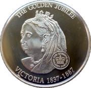 1 Dollar Elizabeth II (Queen Victoria 1837-1901) – revers