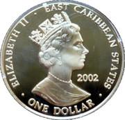 1 Dollar Elizabeth II (Queen Elizabeth II 1952-2002) – avers