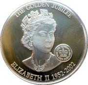 1 Dollar Elizabeth II (Queen Elizabeth II 1952-2002) – revers