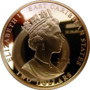 2 Dollar - Elizabeth II (The Duke of Wellington) – avers