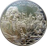 2 Dollars Elizabeth II (Horatio Nelson) – revers