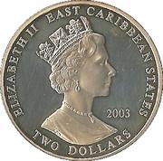 2 dollars (Winston Churchill 1874-1965) – avers