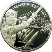2 Dollars - Elizabeth II (Roi Henry V) – revers