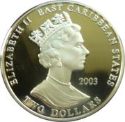 2 Dollars Elizabeth II (Lord Kitchener) – avers