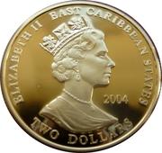 2 Dollars Elizabeth II (King Alfred the Great) – avers