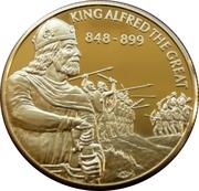 2 Dollars Elizabeth II (King Alfred the Great) – revers