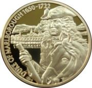 2 Dollars Elizabeth II (Duke of Marlborough) – revers
