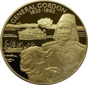 2 Dollars - Elizabeth II (Général Gordon) – revers