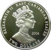 2 Dollars Elizabeth II (Earl of Cardigan 1797-1868) – avers
