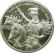 2 Dollars Elizabeth II (Earl of Cardigan 1797-1868) – revers