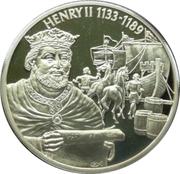 2 Dollars Elizabeth II (King Henry II 1133-1189) – revers