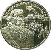 2 Dollars Elizabeth II (Oliver Cromwell 1599-1658) – revers