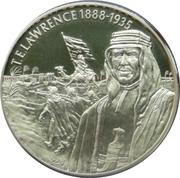 2 Dollars Elizabeth II (T.E.Lawrence 1888-1935) -  revers