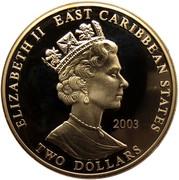 2 Dollars Elizabeth II (Bernard Law Montgomery) – avers