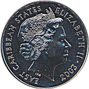 1 dollar Elisabeth II (Pre-Decimal Coinage) – avers
