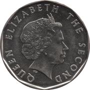 1 dollar - Elizabeth II -  avers