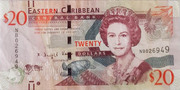 20 Dollars Série 7 – avers