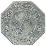 50 pfennig - Oehringen – avers