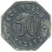50 pfennig - Oehringen – revers