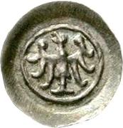 1 Pfennig - Berthold von Teck – avers