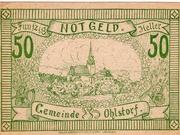 50 Heller (Ohlstorf) -  revers