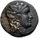 Bronze Æ17 (Oinoe) – avers