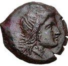 Dihulk Demeter AE Olbia – avers