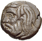 Borysthenes Olbia AE – avers