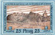 25 Pfennig (Oldenburg in Holstein) – revers