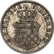 ½ Silbergroschen - Paul Friedrich August – avers