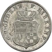 2½ Silber Groschen - Paul Friedrich August – avers
