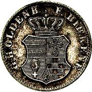 1 Silbergroschen - Paul Friedrich August – avers