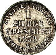 1 Silbergroschen - Paul Friedrich August – revers