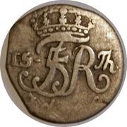 2 grote Friedrich V. du Danmark -  avers