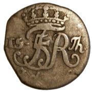 2 grote Friedrich V. du Danmark – avers