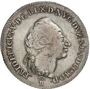 ⅔ thaler Friedrich V – avers