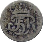 1/48 thaler Friedrich V du Danmark – avers