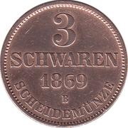 3 Schwaren - Nicolaus Friedrich Peter – revers