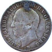 ⅙ Thaler - Paul Friedrich August – avers