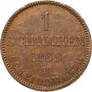 1 Schwaren - Nicolaus Friedrich Peter – revers