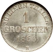 1 Groschen - Nicolaus Friedrich Peter – revers