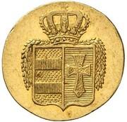 2 grote Peter Friedrich Ludwig (Frappe essai en or) – avers