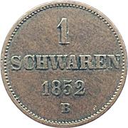 1 schwaren Paul Friedrich August – revers