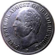1 thaler Paul Friedrich August – avers