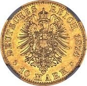 10 Mark - Nicolaus Friedrich Peter – revers