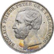 1 Thaler - Nicolaus Friedrich Peter – avers