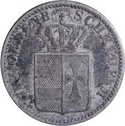 1 Groschen - Nicolaus Friedrich Peter – avers
