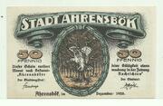 50 Pfennig (Ahrensbök, stadt) – avers